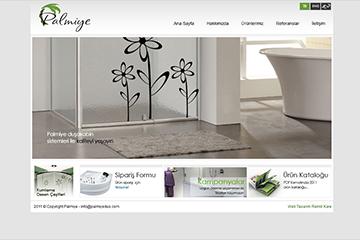 Palmiye Duş Web Sitesi Tasarımı