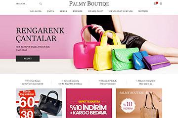 Palmy Boutique Web Sitesi Tasarımı