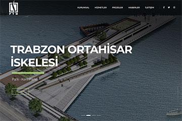 PTM Proje Web Sitesi Tasarımı