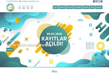 Riva Koşu Web Sitesi Tasarımı