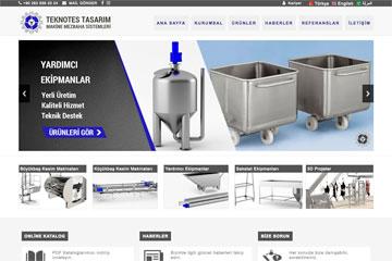 Teknotes Tasarım Web Sitesi Tasarımı