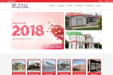 Yalı Ev Web Sitesi Tasarımı